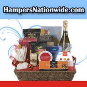 Hampers full of lavish arrangements