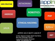 Summer Training on C# Programming with Live Projects@ Appin Kankarbagh