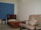 1 BEDROOM HALL KITCHEN PATNA BORING ROAD FURNISHED WITH A/C AND FRIDGE