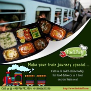 Jain food in train | Train food service - FudCheff.com