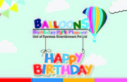 balloons birthday party planner