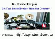 Best Online Drum Set Company | Cheap Electronic Drum Set