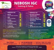 Join Nebosh IGC Course in Patna with Free 6 HSE Course