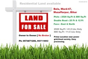 Residential Plots at Bela road,  Muzaffarpur