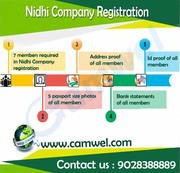 Nidhi Company Registration by Camwel Solution LLP.