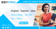 Top Vacancies for English Teachers in Patna
