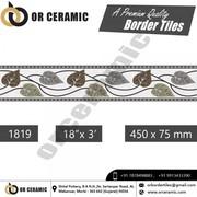 Digital Border Tiles at affordable Price in Bihar- Or Ceramic