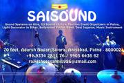 Sound System and Event Management Company in Patna