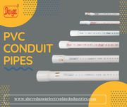 Find the best PVC conduit pipes in india at Durga.